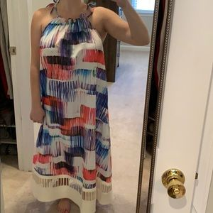 Bright, colorful Anthropologie Dress